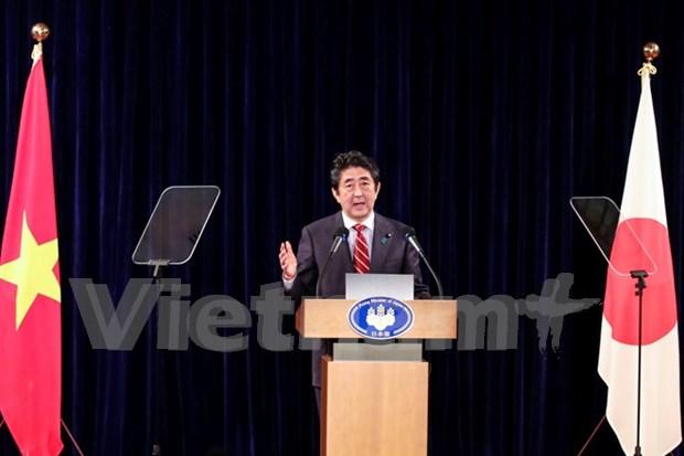 Premier de Japon reitera supremacia de ley en seguridad maritima hinh anh 1