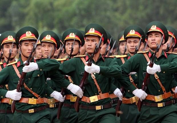 Felicita ministro de Defensa a veteranos de guerra en ocasion del Tet hinh anh 1