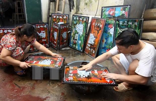 Declaran a oficio de lacar Tuong Binh Hiep herencia intangible de Vietnam hinh anh 1
