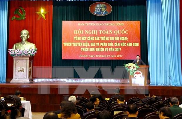 Actividades de informacion al exterior de Vietnam alcanzan avances notables hinh anh 1