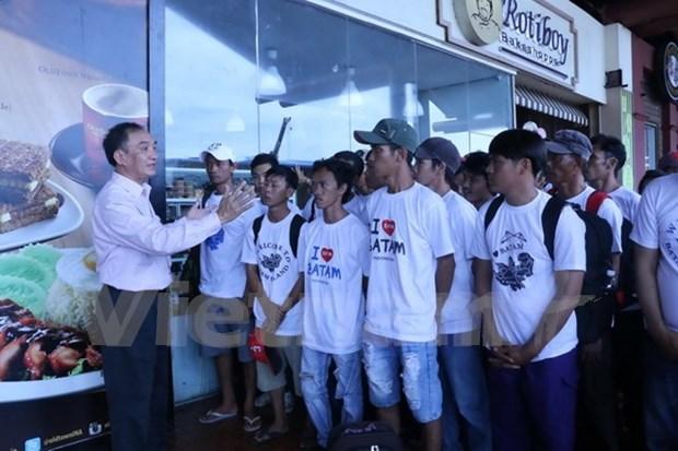 Indonesia repatria a 70 pescadores vietnamitas hinh anh 1
