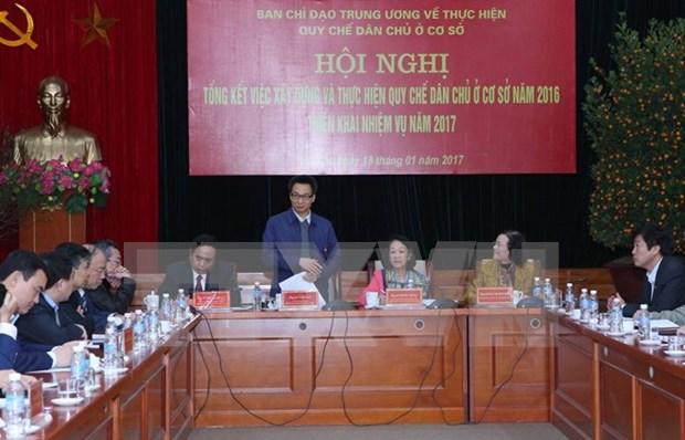 La mejora de la atencion a ciudadania en Vietnam fomenta confianza del pueblo hinh anh 1