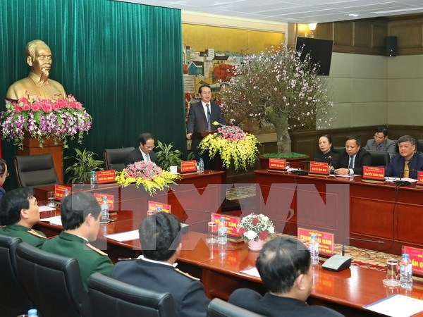 Presidente urge a convertir Hai Phong en urbe inteligente hinh anh 1