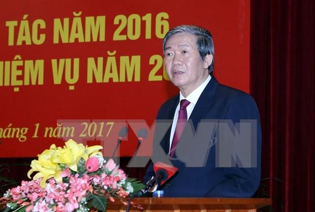 Dirigente partidista enfatiza la necesidad de renovar actividades diplomaticas hinh anh 1
