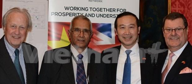 La Red Vietnam-Reino Unido contribuye a impulsar asociacion estrategica bilateral hinh anh 1