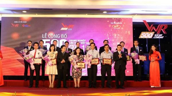 Anuncian 500 mayores empresas de Vietnam en 2016 hinh anh 1