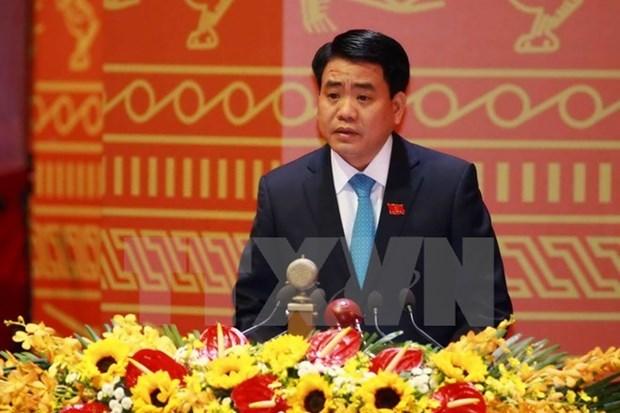 Autoridades de Hanoi felicitan a comunidad de protestantes por el Tet hinh anh 1