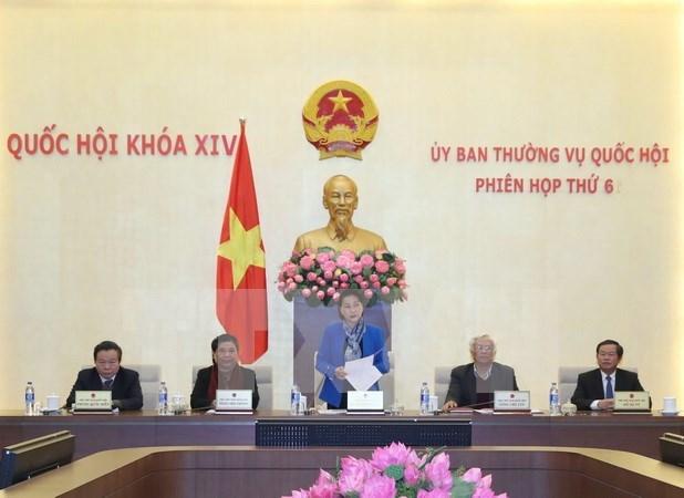 Clausuran sexta sesion del Comite Permanente de Parlamento de Vietnam hinh anh 1