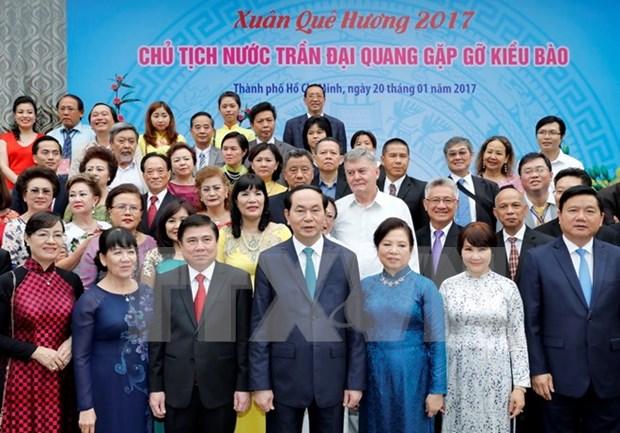 Presidente de Vietnam resalta aportes de connacionales en ultramar hinh anh 1