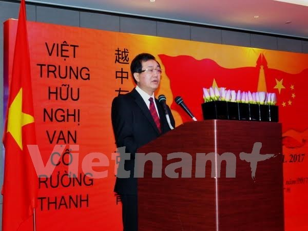 Conmemoran aniversario de relaciones Vietnam-China hinh anh 1
