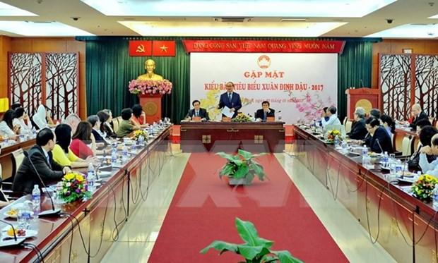 Ciudad Ho Chi Minh aprecia apoyo de vietnamitas residentes en extranjero hinh anh 1