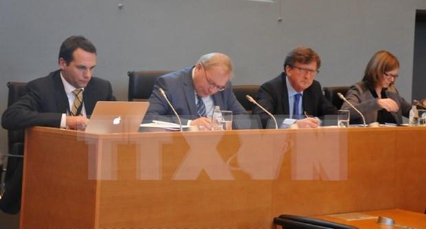 Parlamento de Valonia estudia Tratado de Libre Comercio Vietnam- UE hinh anh 1