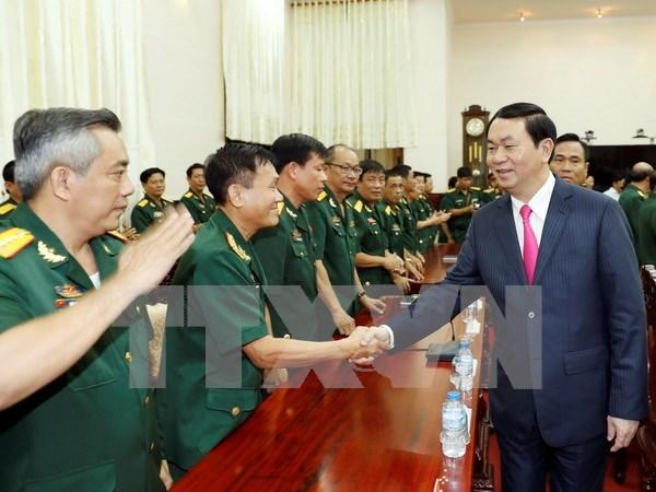 Presidente vietnamita pide mantener vigilancia de situacion en el mar hinh anh 1
