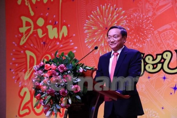 Relacion Vietnam – Laos registra fuerte avance hinh anh 1