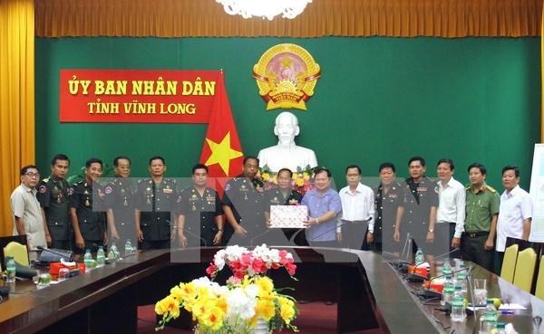 Provincias de Vietnam y Camboya consolidan relaciones de solidaridad hinh anh 1