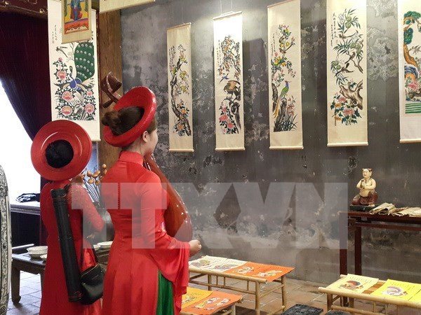 Hanoi revive fiesta tradicional en el casco antiguo hinh anh 1