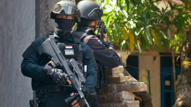 Indonesia detiene sospechosos relacionados con EI hinh anh 1
