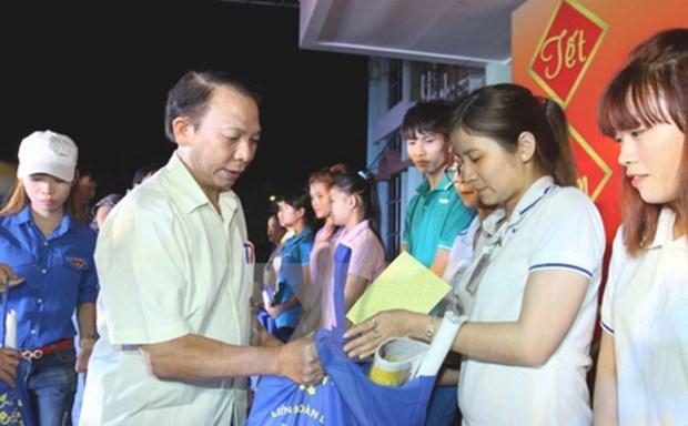 Asistencias a trabajadores y hogares pobres en Vietnam por el Tet hinh anh 1