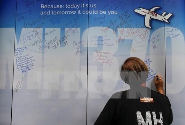 Australia y Malasia agradecen esfuerzos de equipo de busqueda de vuelo MH370 hinh anh 1