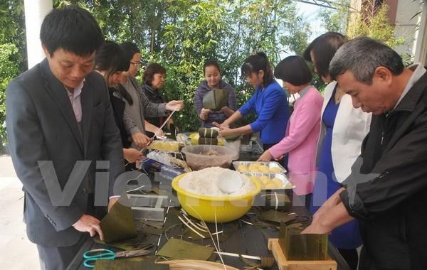 Comunidad vietnamita en Mexico celebra Ano Nuevo Lunar hinh anh 2