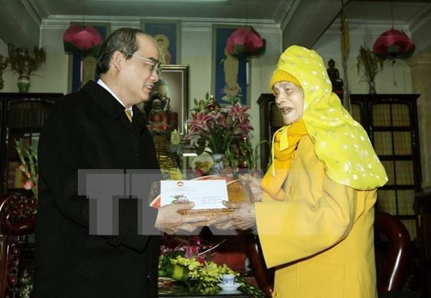 Sangha Budista de Vietnam contribuye activamente al desarrollo nacional hinh anh 1