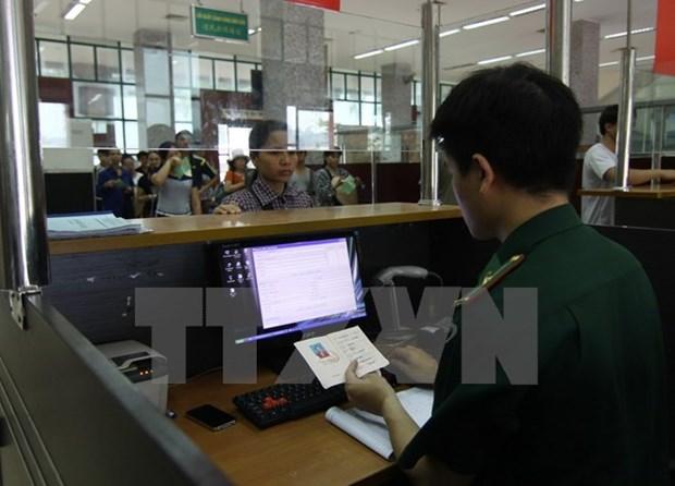Vietnam expedira visado electronico a extranjeros a partir de febrero hinh anh 1