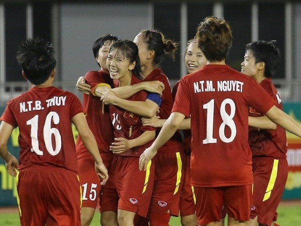 Vietnam enfrentara a Iran en la Copa asiatica de futbol femenino hinh anh 1