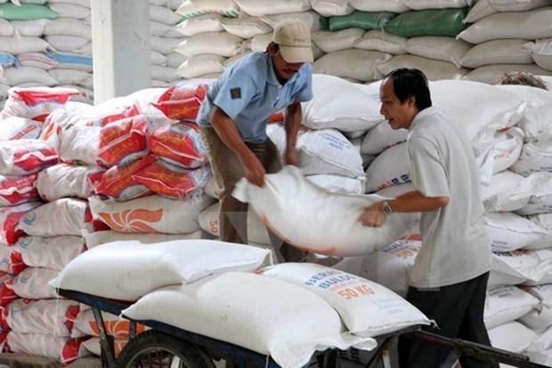 Merman las exportaciones vietnamitas de arroz en enero hinh anh 1