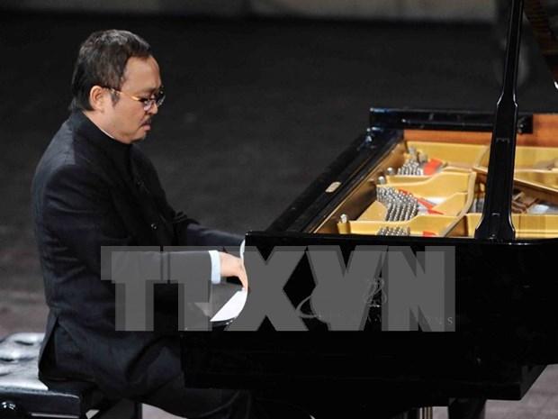 El legendario pianista Dang Thai Son hinh anh 1