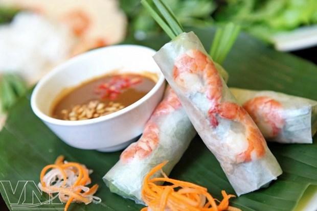 Rollos de primavera frescos de Saigon hinh anh 1