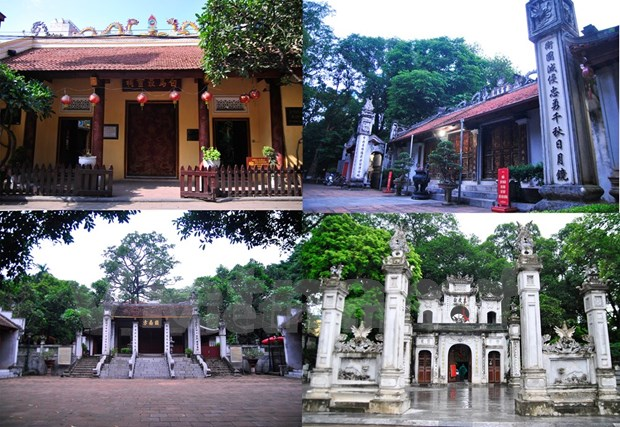 Cuarteto protector de Thang Long-Hanoi hinh anh 1