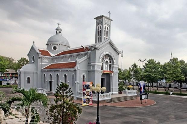 Iglesia Hanh Thong Tay, patrimonio arquitectonico en el sur de Vietnam hinh anh 1