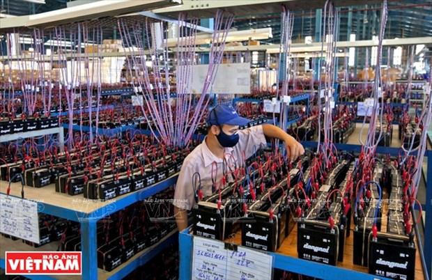 PINACO, prestigioso fabricante de pilas y baterias en Vietnam hinh anh 1