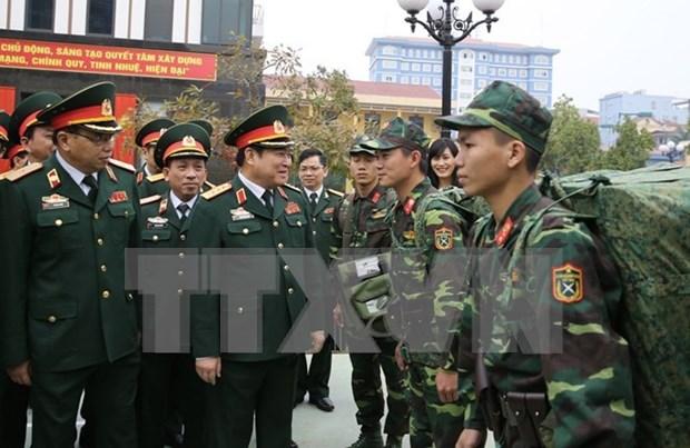  Ministro vietnamita subraya tareas principales de sector de defensa hinh anh 1