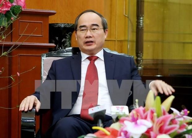 Presidente del FPV piden potenciar la unidad para el desarrollo nacional hinh anh 1