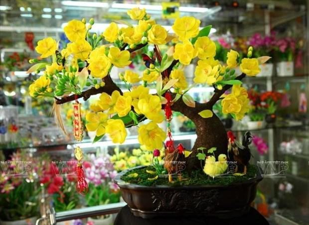 Hermosas flores de arcilla hinh anh 1