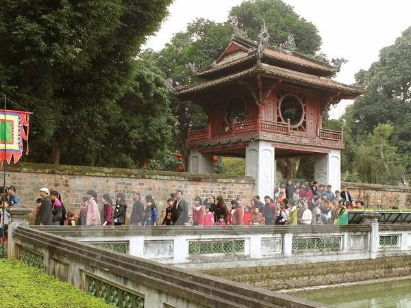 Hanoi ante los ojos de los turistas hinh anh 1