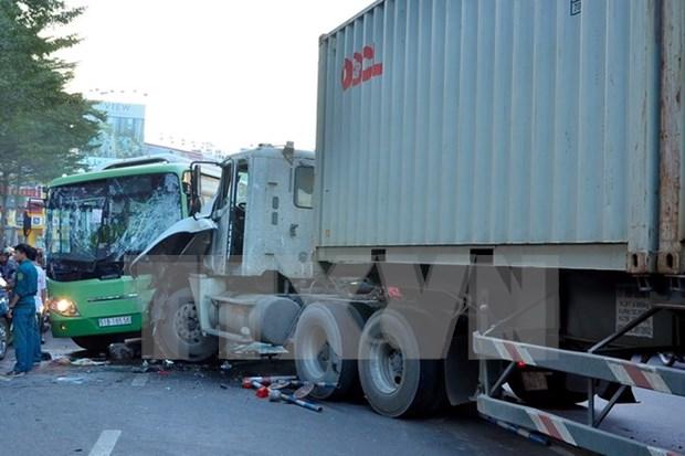 Incrementan numero de muertos por accidentes de trafico en Tet 2017 hinh anh 1