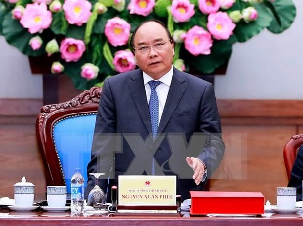 Primer ministro visita provincia de Quang Ngai con motivo de Tet hinh anh 1
