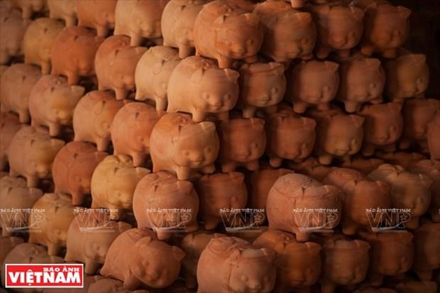 Huchas de cerdo en Lai Thieu hinh anh 1