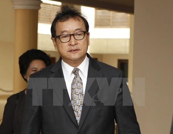 Tribunal de Cambodia convoca a lider opositor hinh anh 1