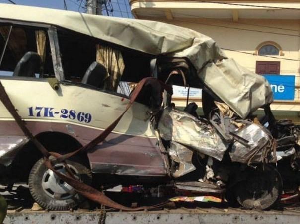 Crecen numero de accidentes de trafico en tercer dia del Tet hinh anh 1