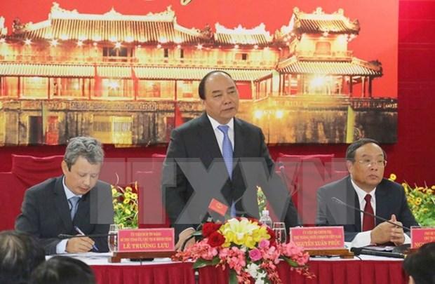 Premier exige a desarrollar el turismo de Thua Thien- Hue hinh anh 1