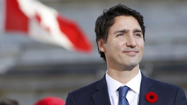Primer ministro canadiense felicita a la comunidad vietnamita en ocasion del Tet hinh anh 1