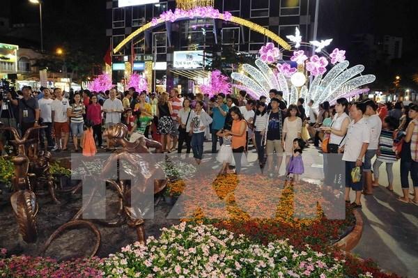 Aumenta numero de turistas a Vietnam en ocasion del Ano Nuevo Lunar hinh anh 1