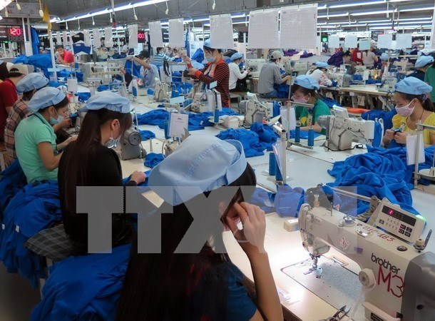 Industria textil de Vietnam emite senales positivas hinh anh 1