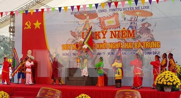 Vietnam rinde homenaje a heroinas de la lucha contra invasores hinh anh 1