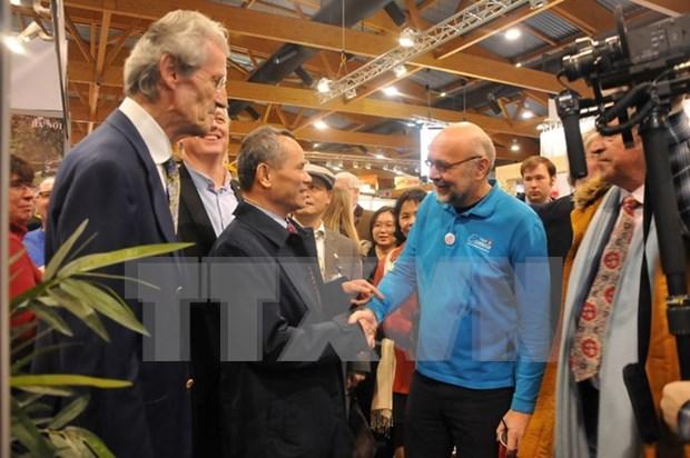 Vietnam Airlines en Feria Internacional de Turismo de Bruselas hinh anh 1