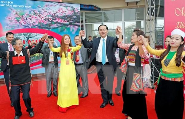 Vietnam prioriza asuntos de nacionalidades, afirma presidente hinh anh 1