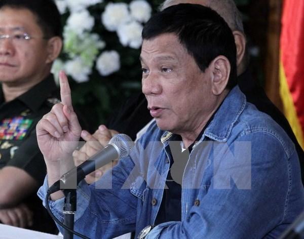 Filipinas suspende el cese al fuego unilateral con grupo rebelde hinh anh 1